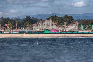Santa Cruz Beach Boardwalk from the Pier