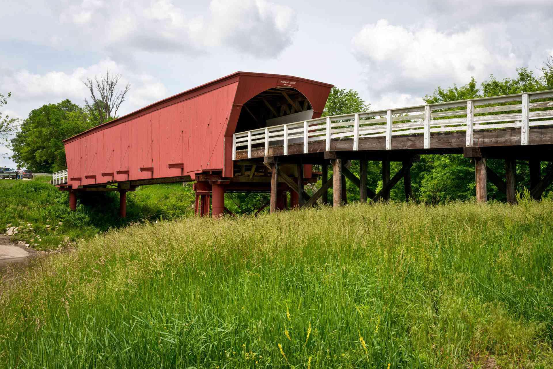 Iowa covered bridge