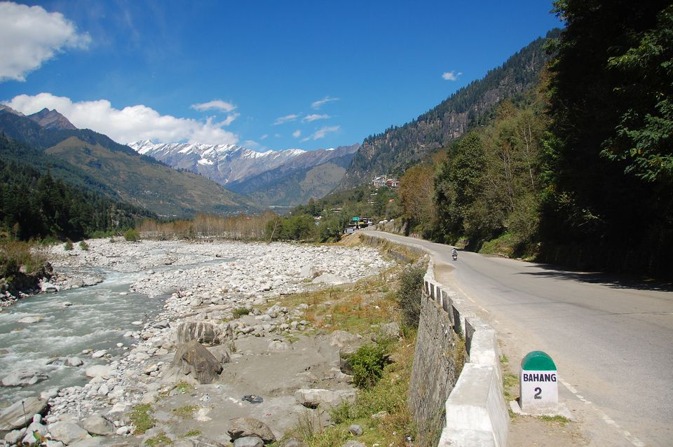 Getting to Manali