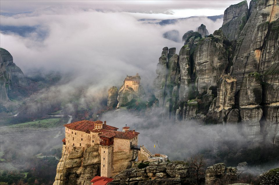 Mountain monasteries of Meteora