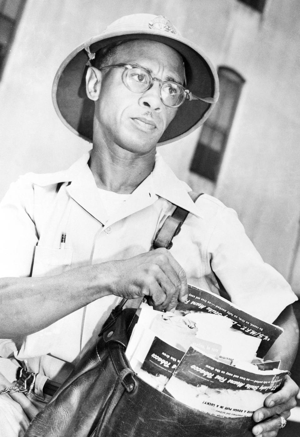 Mail Carrier and Civil Rights Activists Heman Sweatt