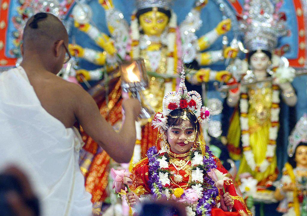 Kumari Puja.