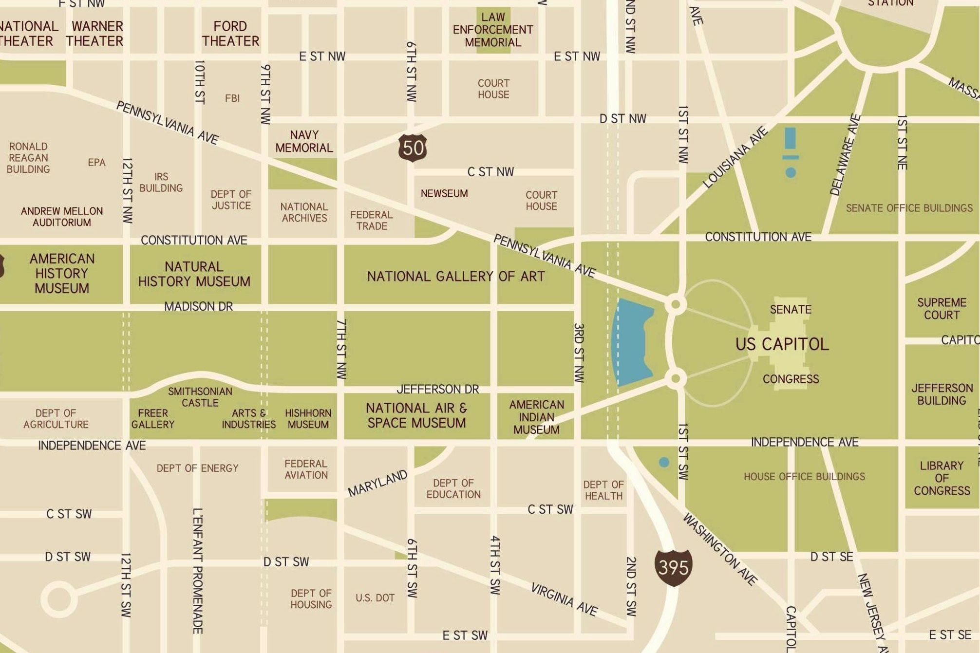 Smithsonian Washington Dc Map.Washington D C National Mall Maps Directions And Information