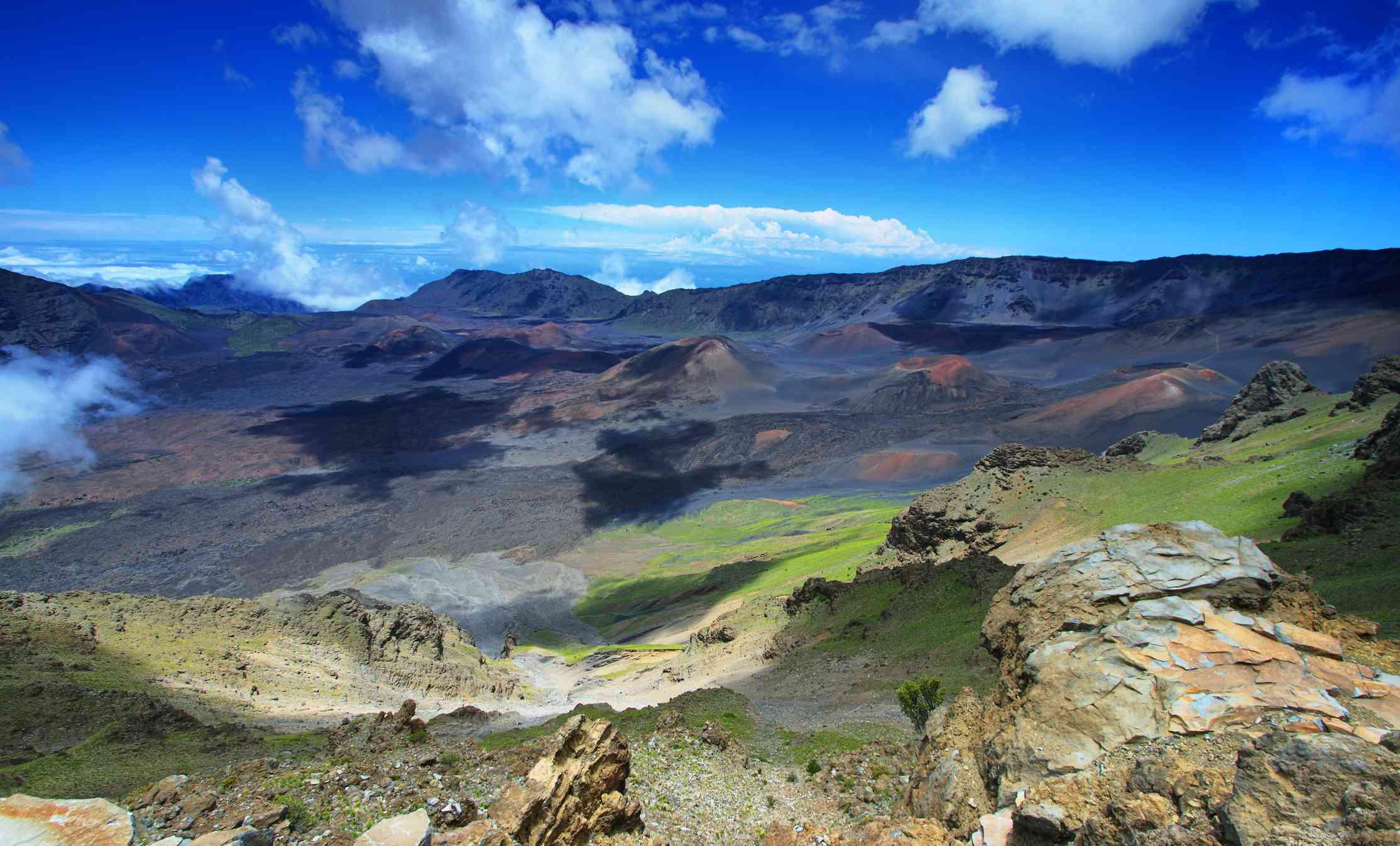 Haleakala Crater on Maui