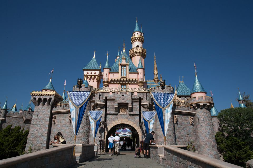 Sleeping Beauty Castle at Disneyland, CA