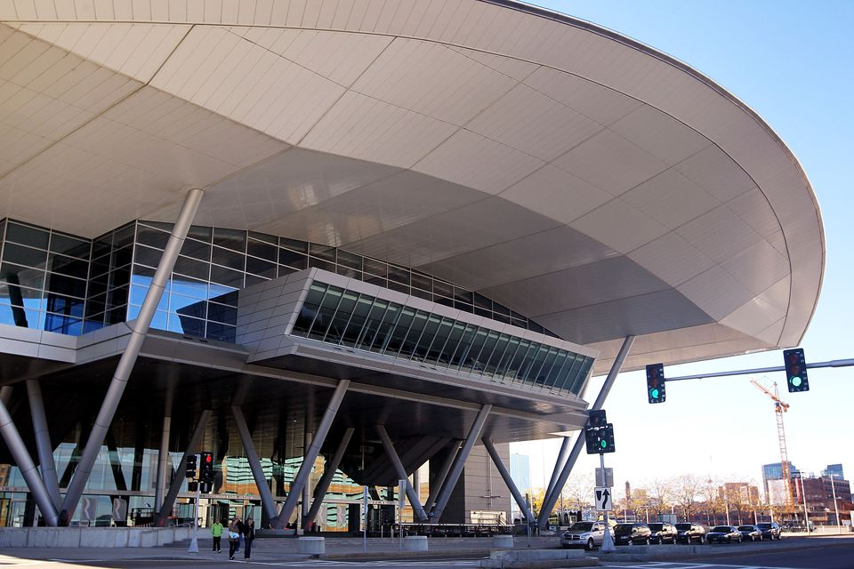 Front of the Convention Center