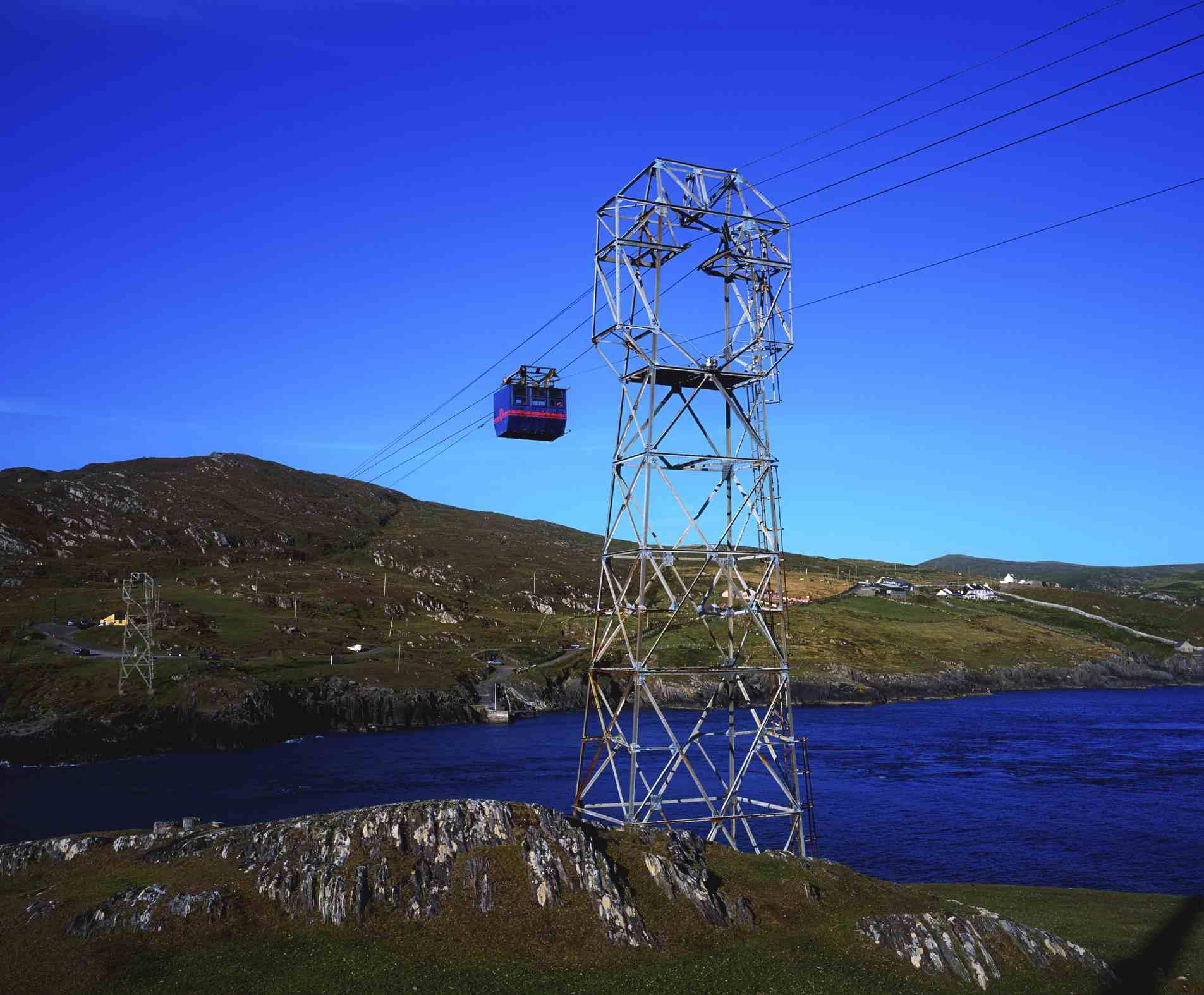 Dursey Island, County Cork, Ireland, Cable Car