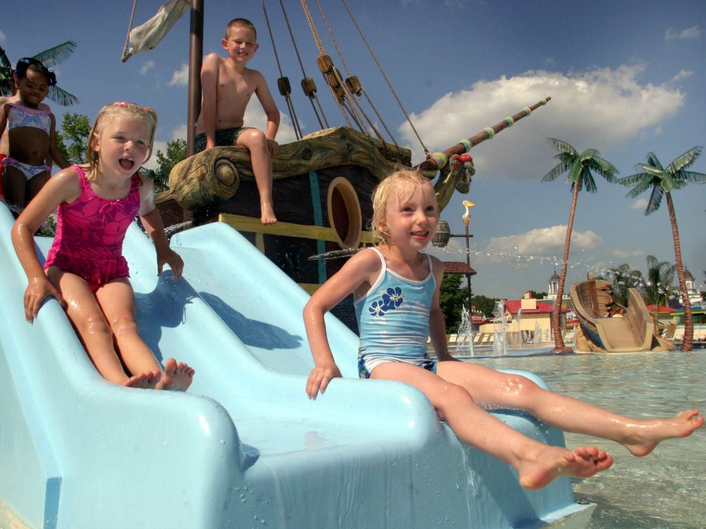 Six Flags Great Escape Buccaneer Beach