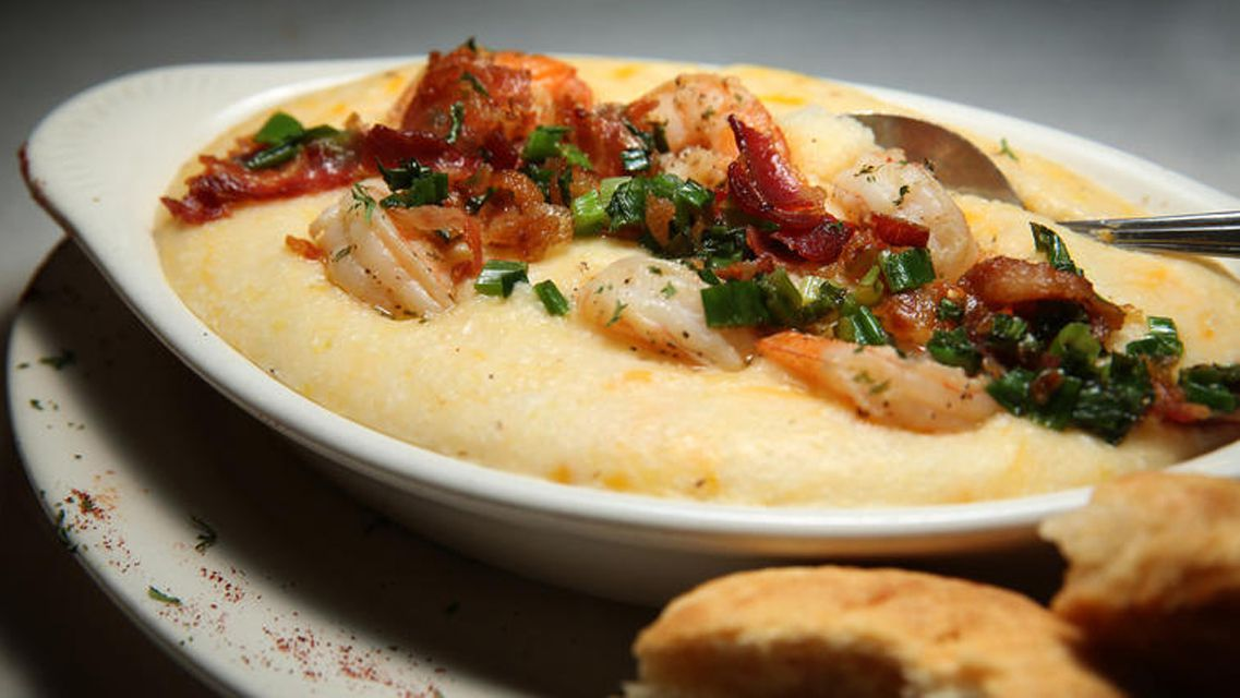 Shrimp and grits at Pearl's Place