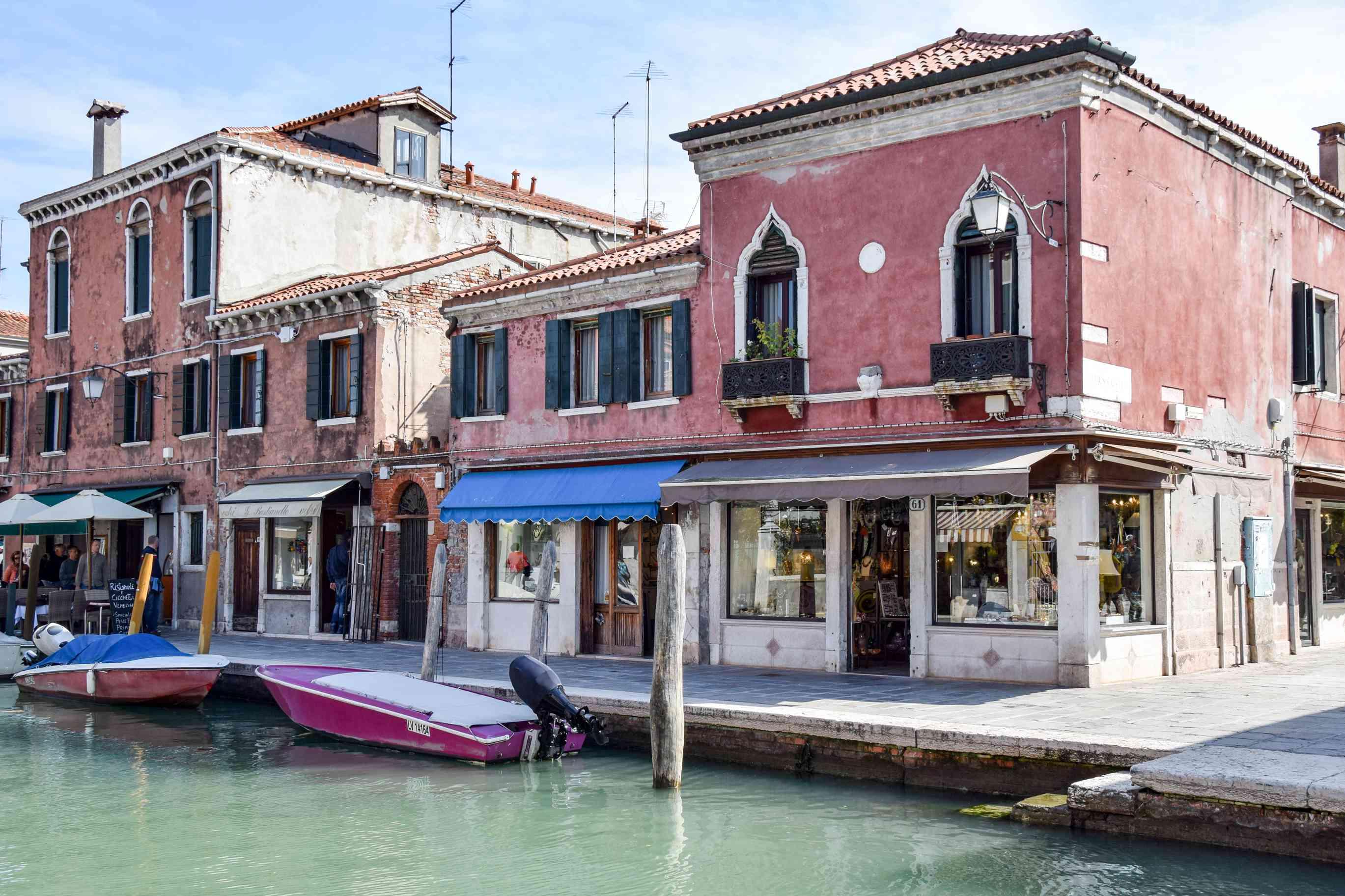 Shops in Murano