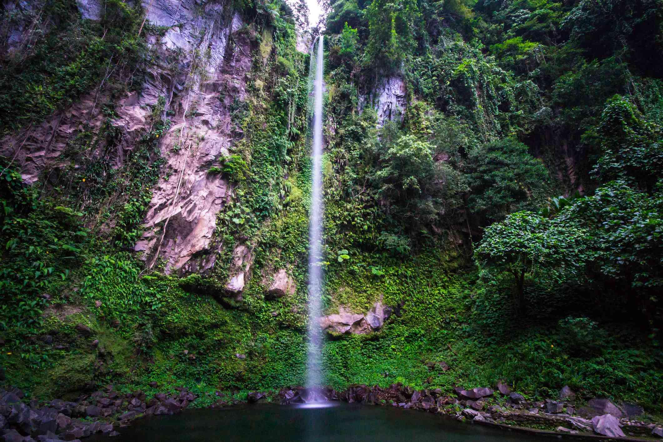 Katibawasan Falls in Long Exposure