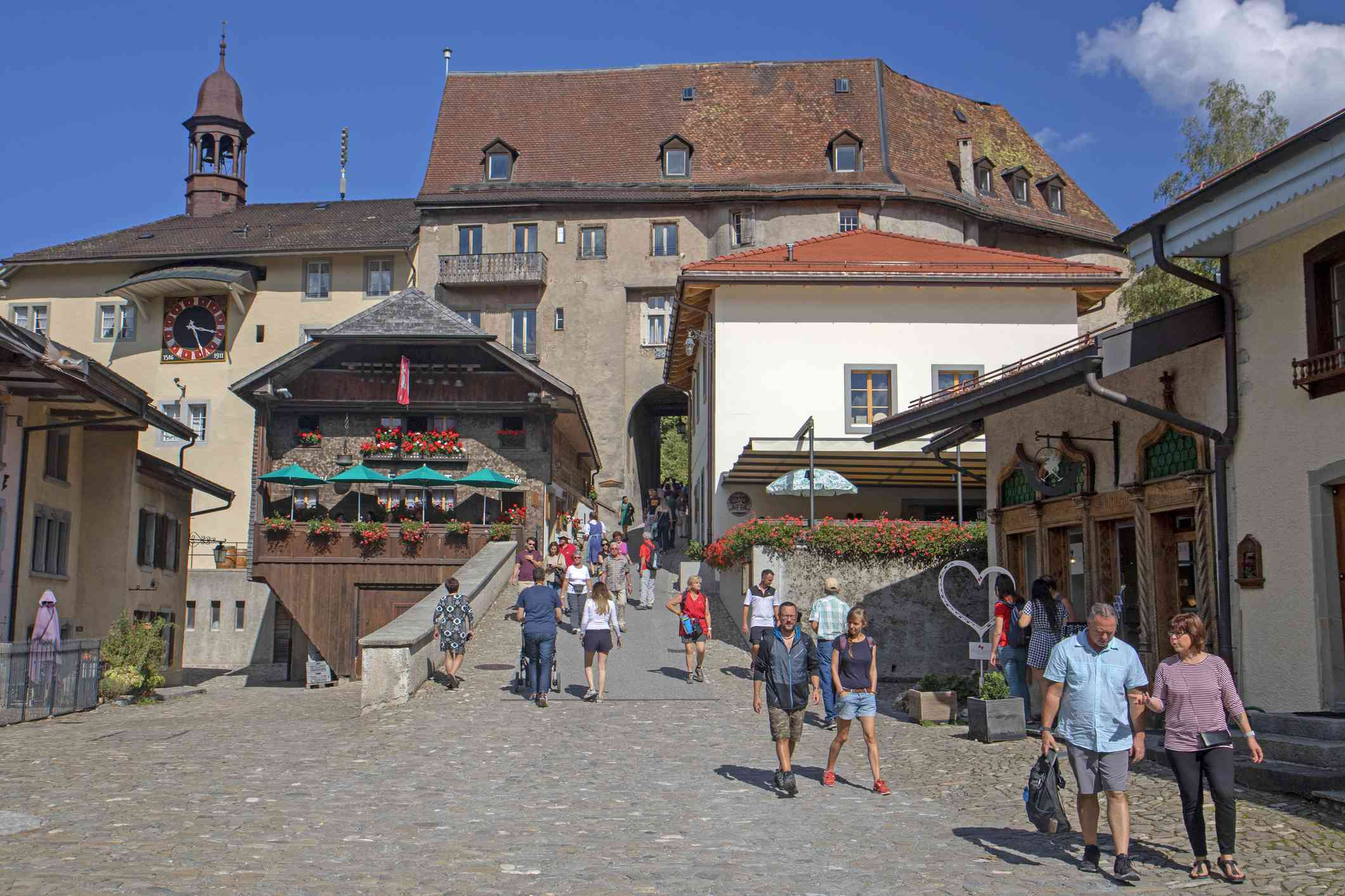 Old Town of Gruyères