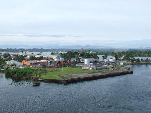 Sailing into Papua New Guinea