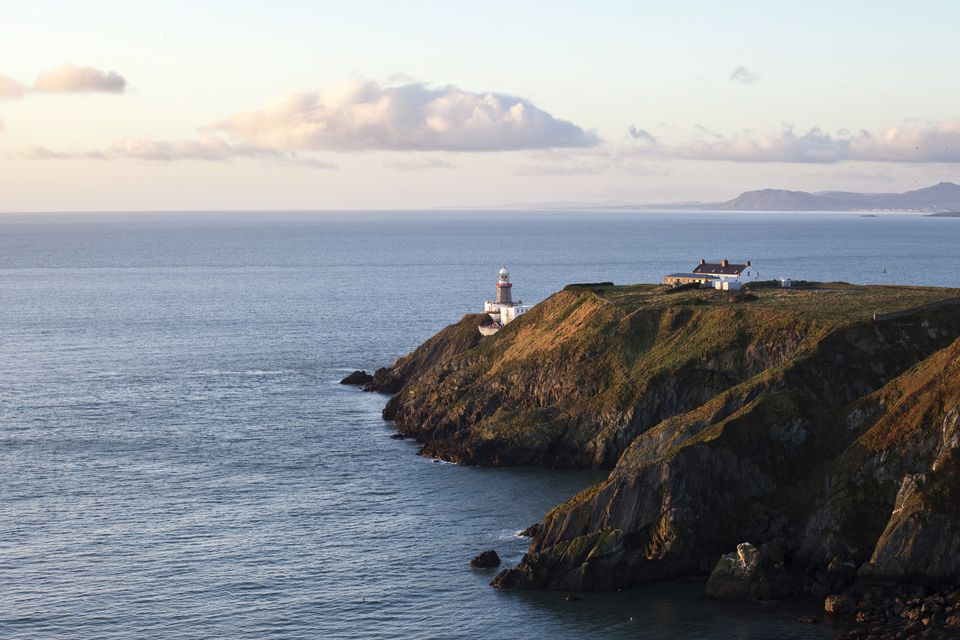 Baily Lighthouse Overlooking Dublin Bay