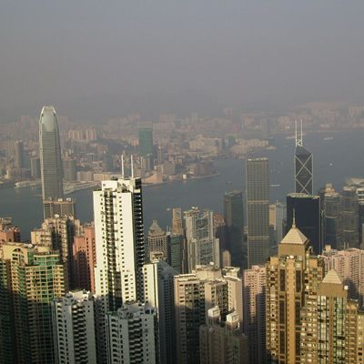 Hong Kong Skyscrapers - Peak View