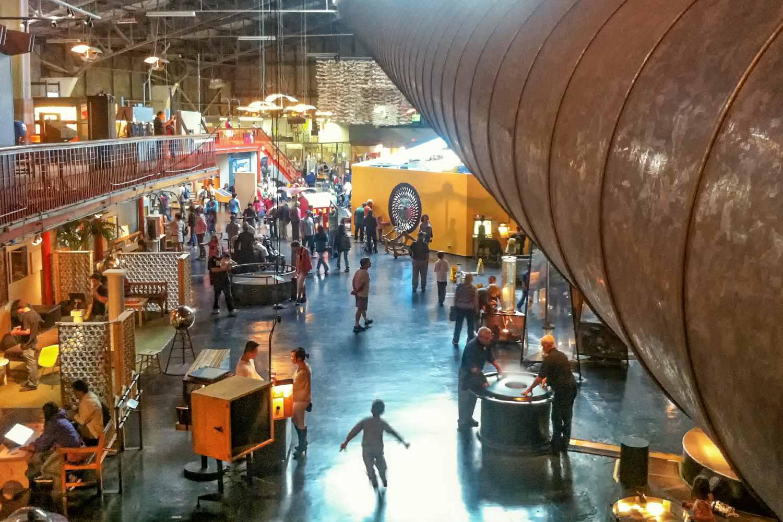 Exhibits at The Exploratorium