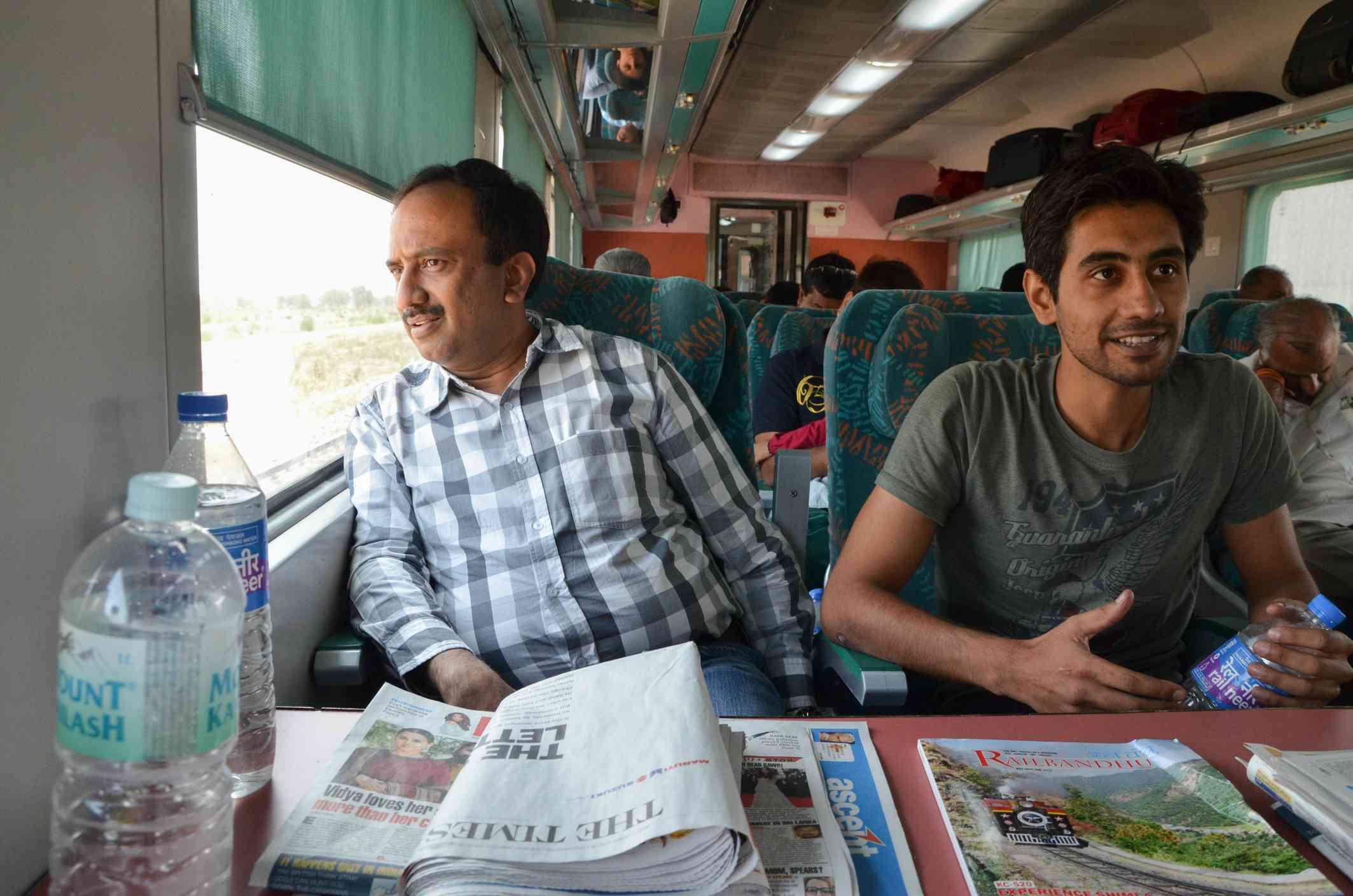 Indian Railways Executive Class.