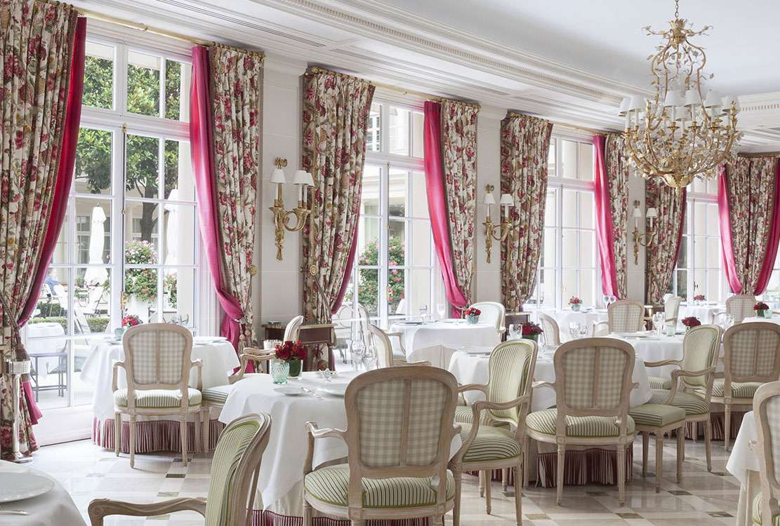 Epicure dining room at Le Bristol