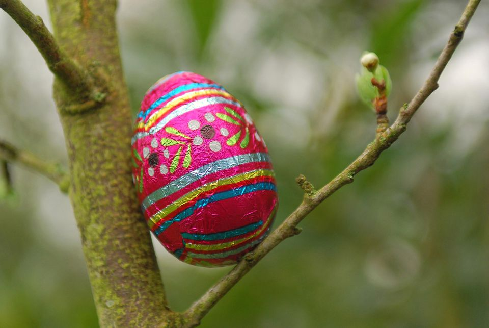 Easter in Paris can include fun events such as Easter-egg hunts in parks.