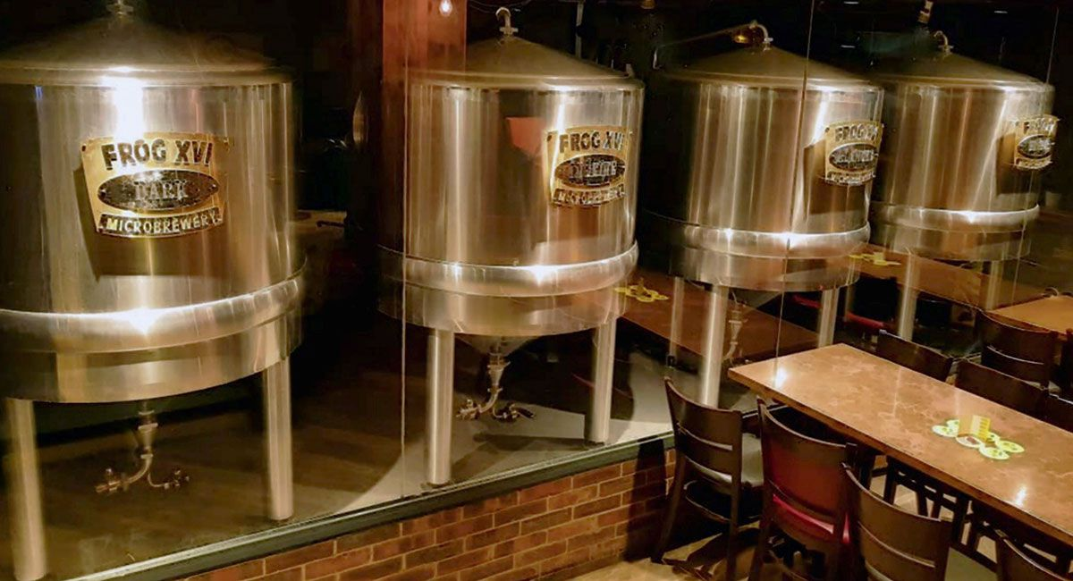 Frog pubs have been making and serving their own-brand craft beers since 1993.