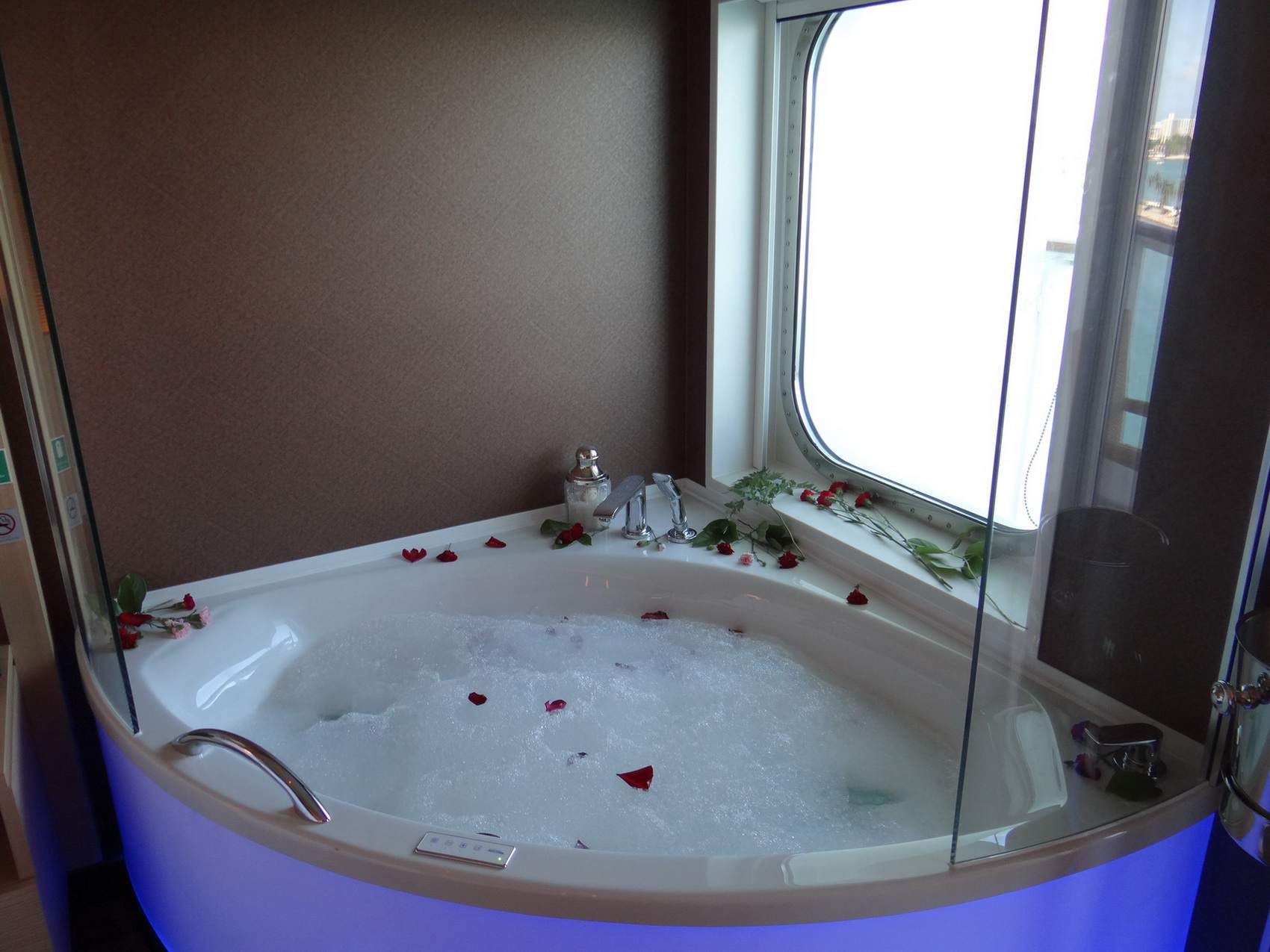 Tub in The Haven Spa Suite on the Norwegian Getaway