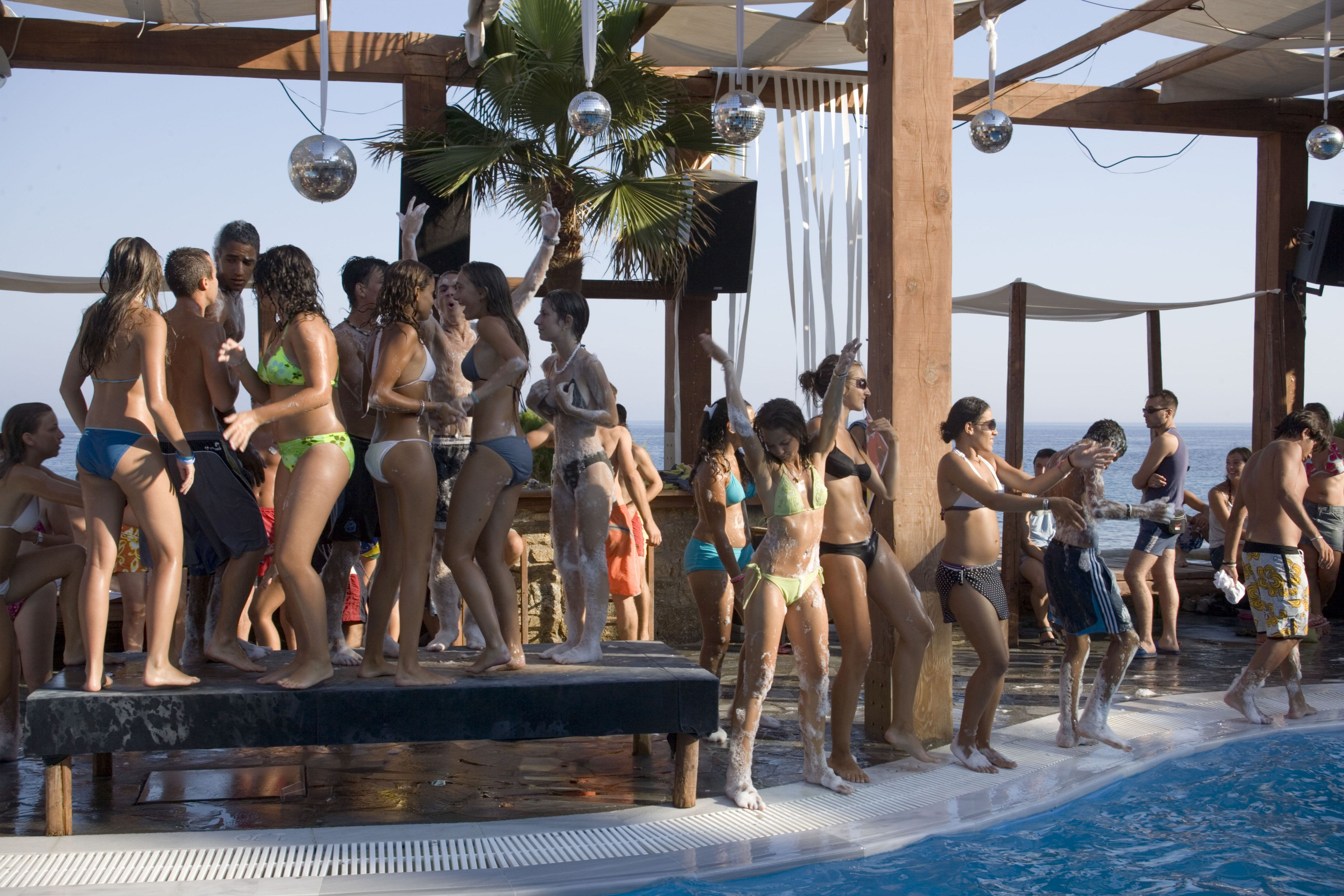 Pool Party at Paradise Beach