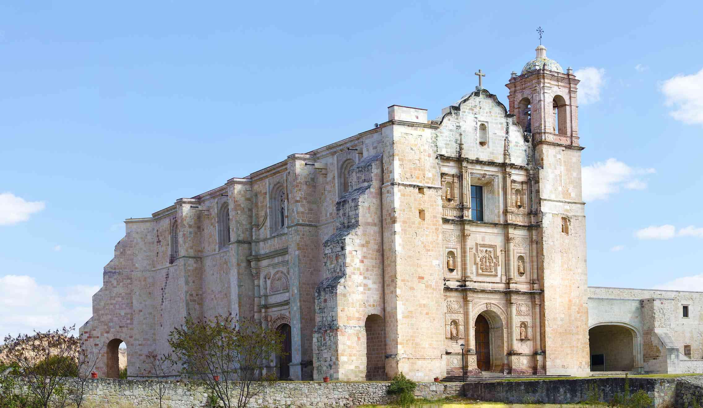 church and ex convent of Santo Domingo, Yanhuitlan, Oaxaca, Mexico