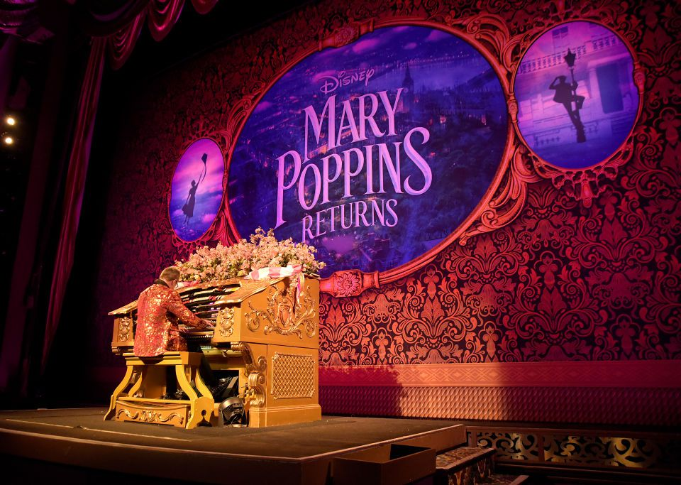 The El Capitan Theatre Presents Special Opening Night Fan Event For Disney's 'Mary Poppins Returns'