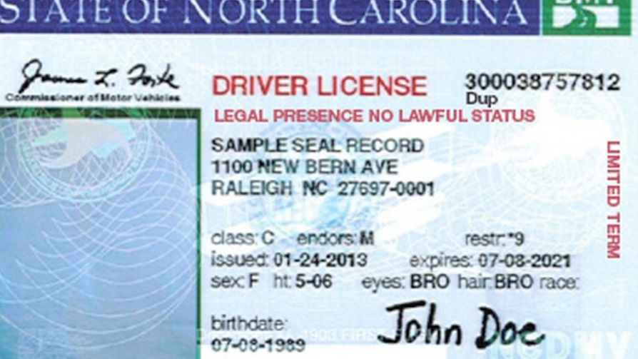 nc drivers license road test tips