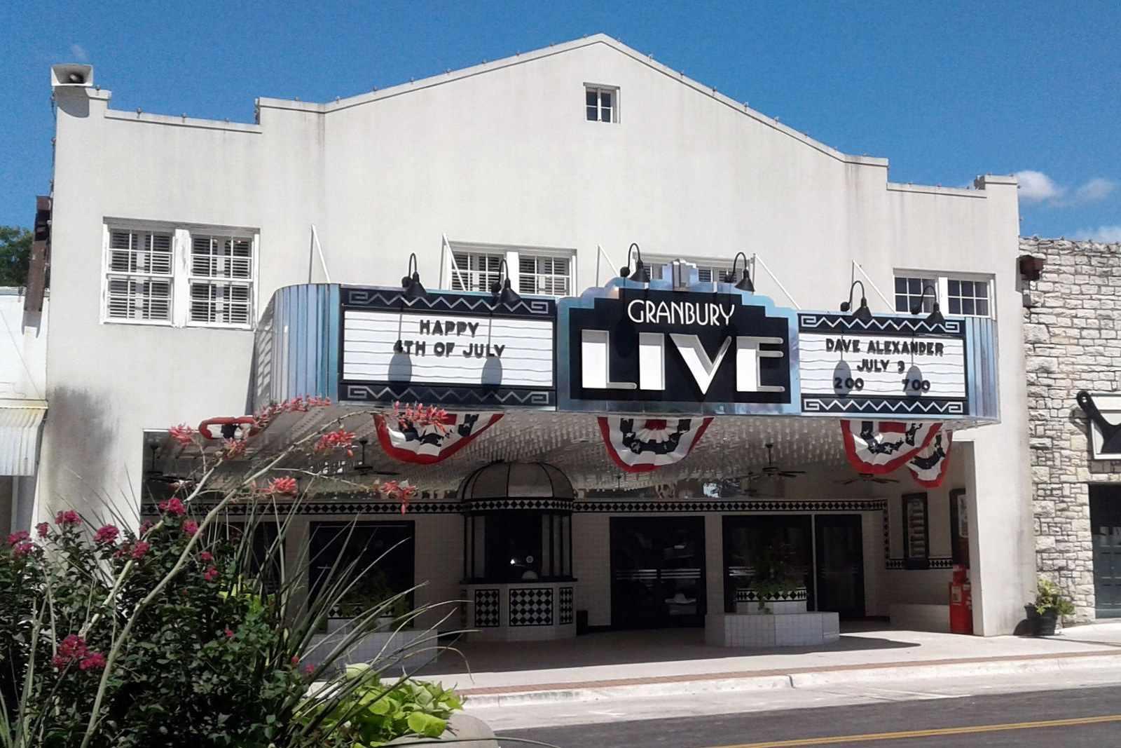 Granbury Texas theater