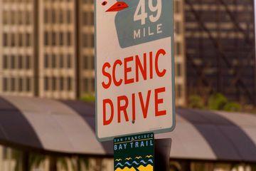 San Francisco 49 mile drive sign