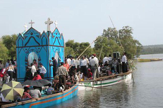 Festival de fiesta Goa .