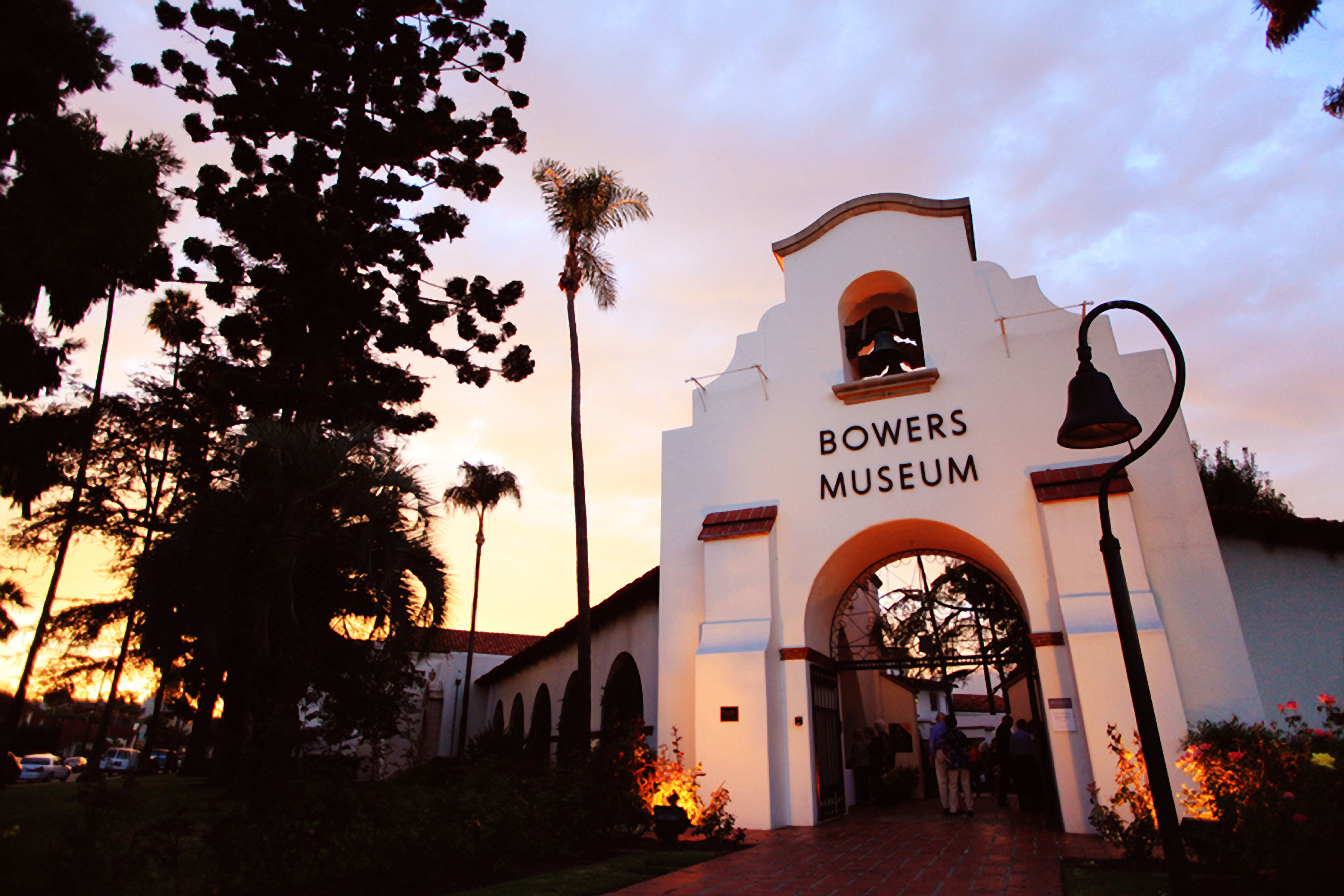 Historic Belltower Entrance to the Bowers Museum