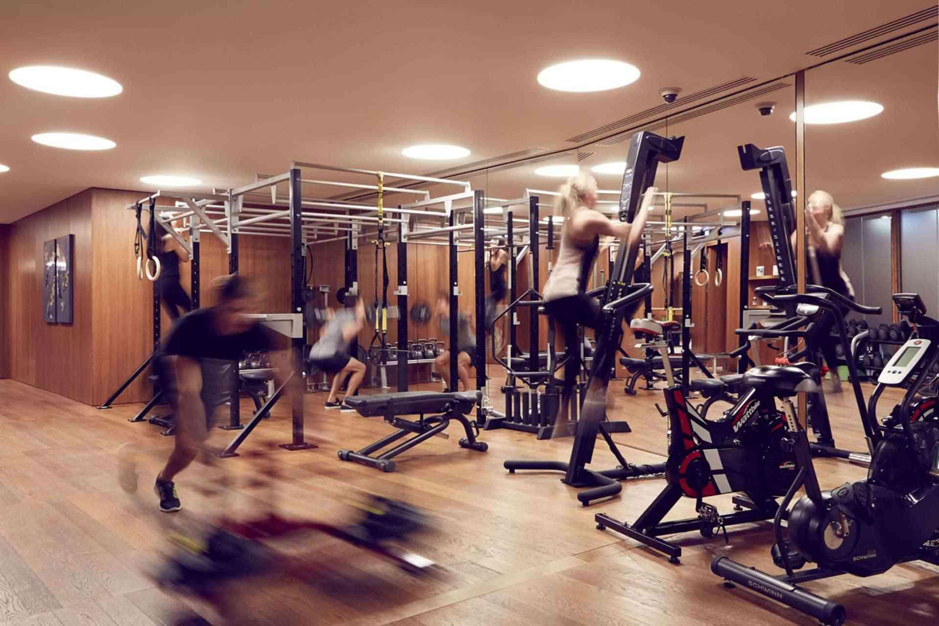 Bulgari Gym London
