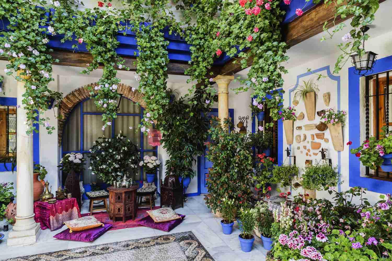 Floral patio in Cordoba, Spain