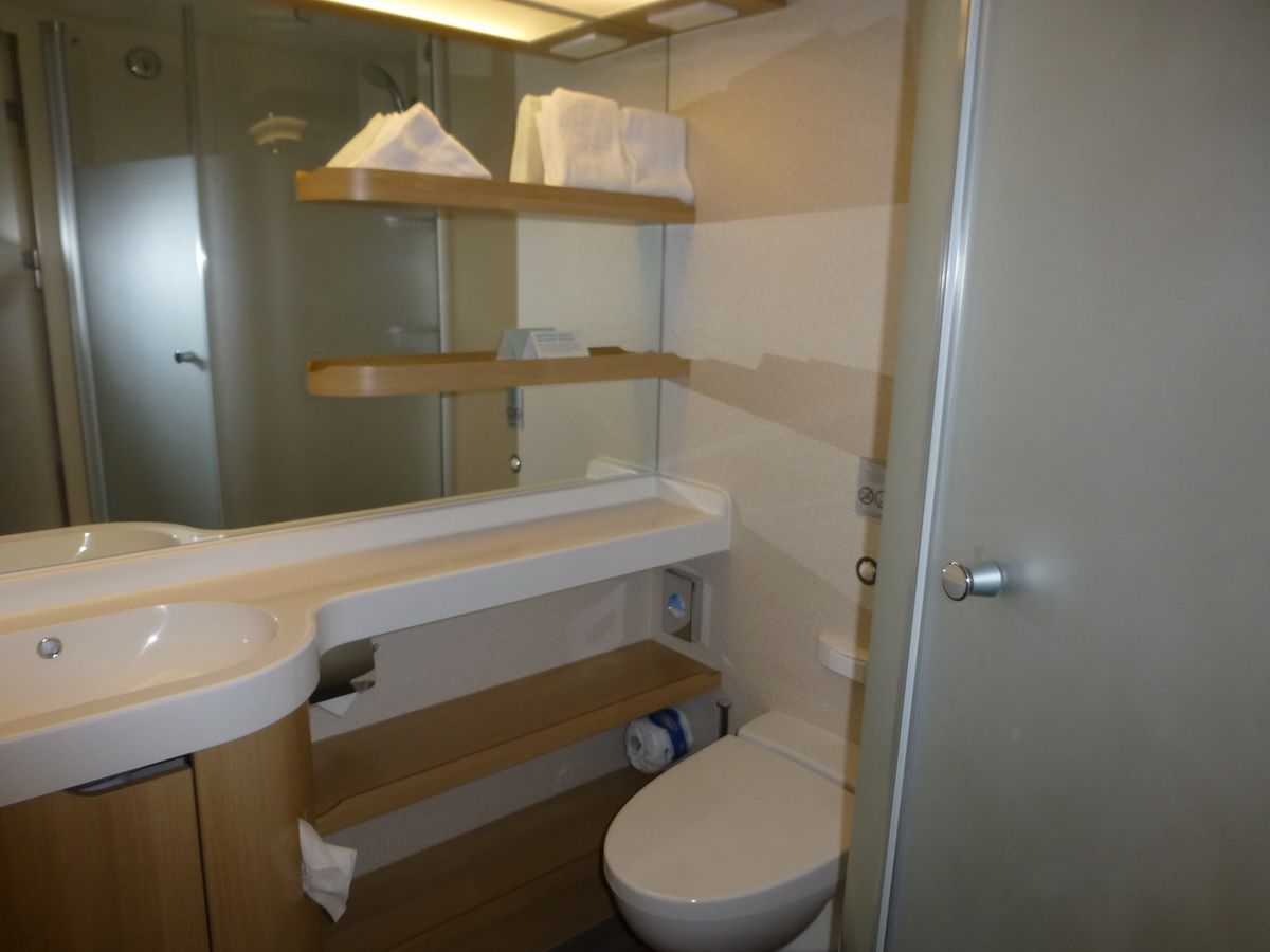 Norwegian Breakaway Spa Balcony Cabin Bathroom