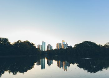 The Atlanta Skyline from Piedmont Park