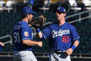 Segedin and Bellinger OKC Dodgers