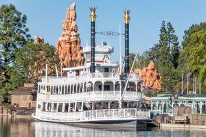 Mark Twain Riverboat, Disneyland