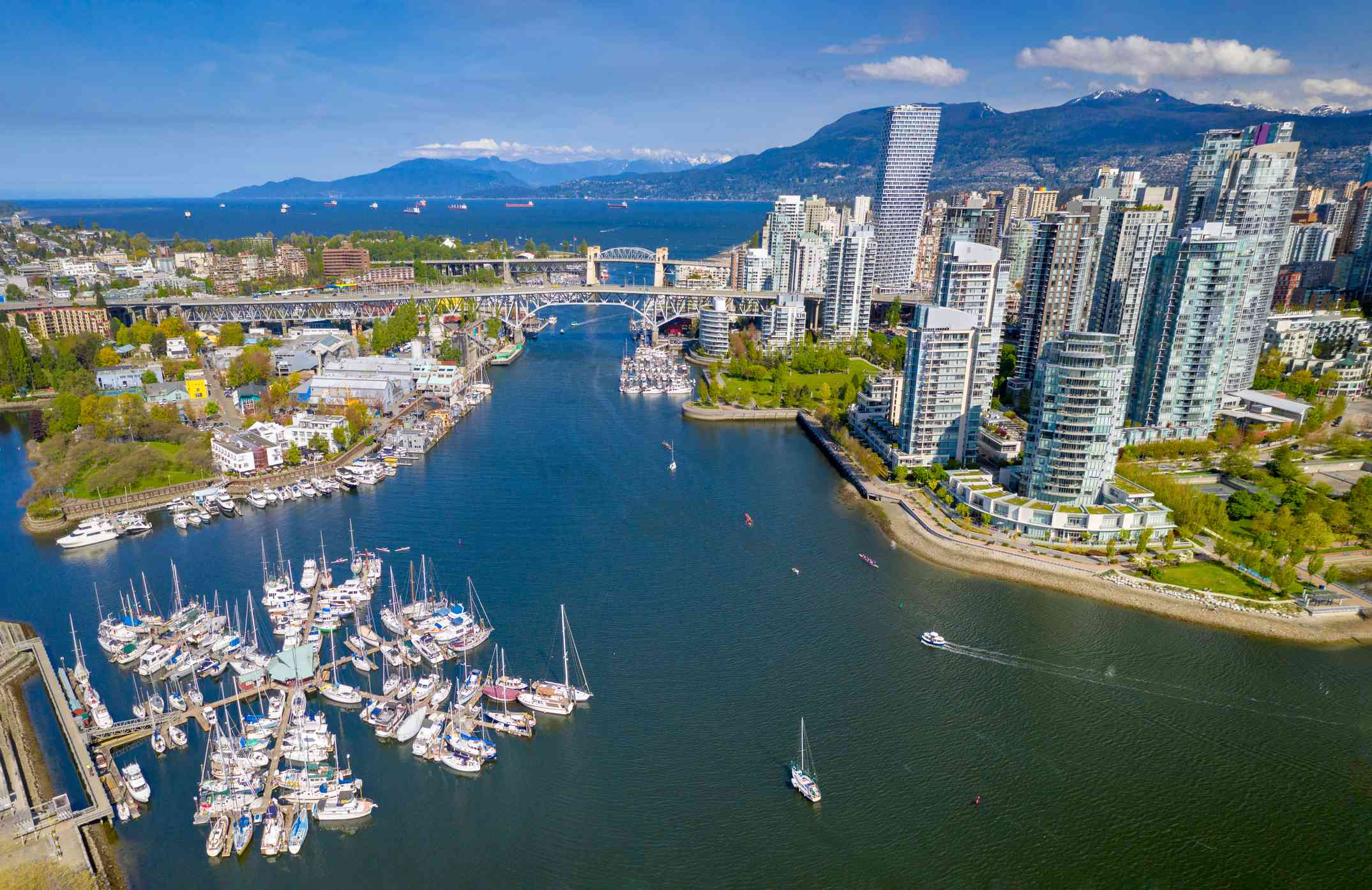 Granville Island and Downtown Vancouver
