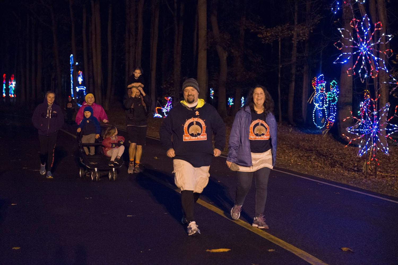 Winter Festival of Lights Watkins Regional Park