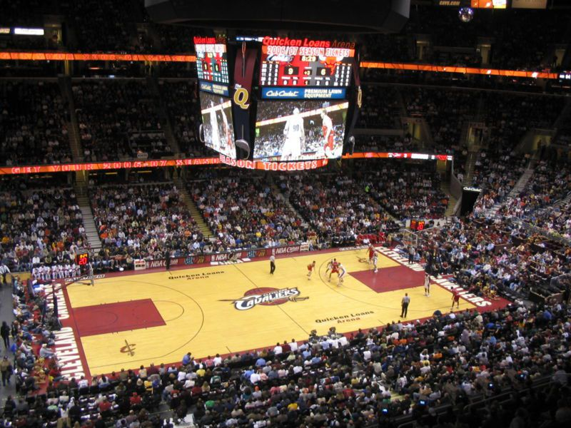 Quicken Loans Arena in Cleveland Ohio
