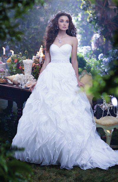Disney Wedding Dress.Disney Princess Wedding Dresses By Alfred Angelo