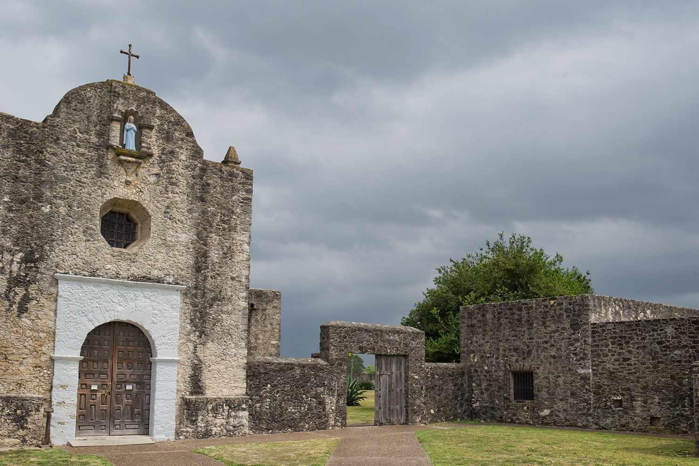 Mission in Goliad, Texas