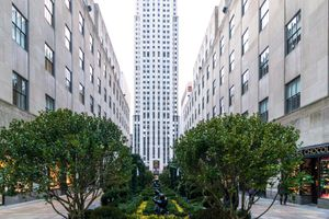 Rockefeller Center and lawn