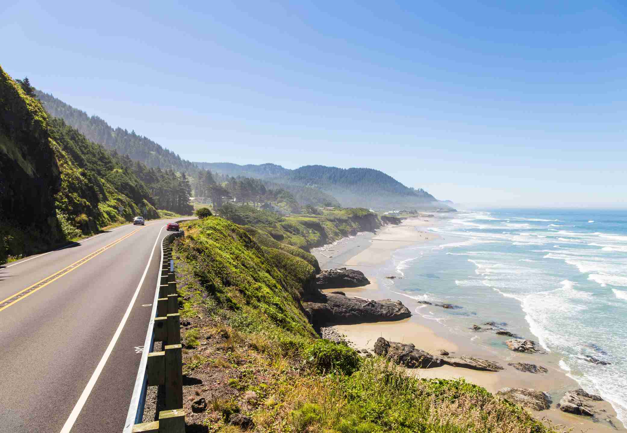 Pacific Coast Highway, Oregon