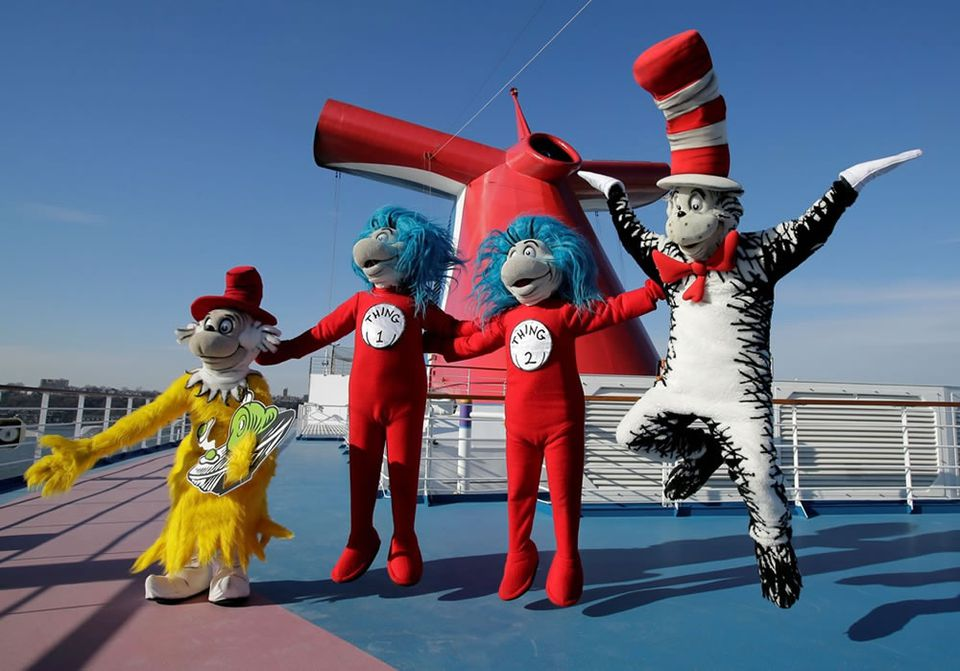 Seuss At Sea Characters Carnival Cruises
