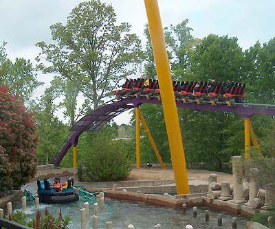 Photo Gallery of Bush Gardens Virginia Roller Coasters