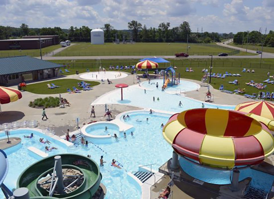 Splash Zone Ohio water park