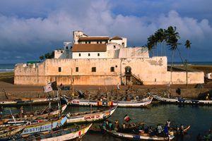 St. George's castle Elmina Castle